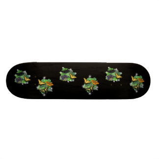 Butterflies with sheets, rain drops 21.6 cm skateboard deck