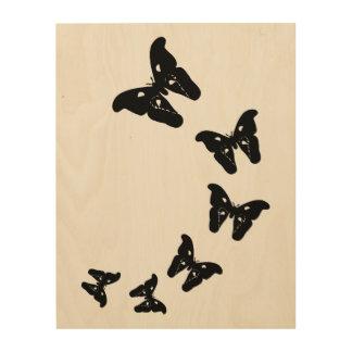 Butterflies Wood Wall Art