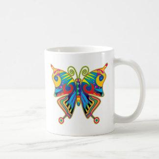 butterfly1 basic white mug