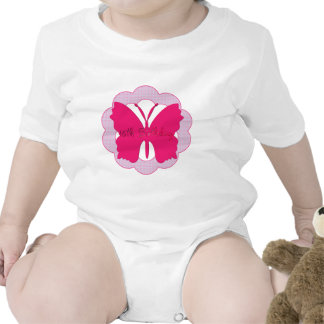 Butterfly 16th Birthday Gifts Baby Bodysuits
