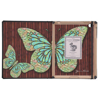 Butterfly 1 DODO iPad Folio Cases Cover For iPad