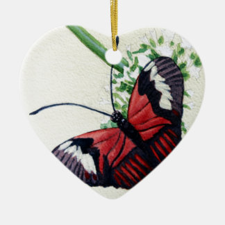 Butterfly 1 Watercolor Painting Art Ornaments