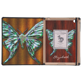 Butterfly 2 DODO iPad Folio Cases Options Cover For iPad