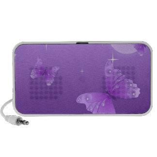 butterfly-69998 cartoon butterfly purple white vec laptop speaker