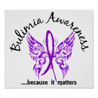 Butterfly 6.1 Bulimia Poster