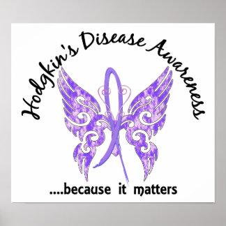 Butterfly 6.1 Hodgkin's Disease Poster