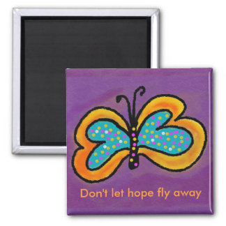Butterfly Abstract Art by Blossom Magnets