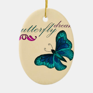 butterfly accessories christmas ornament