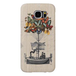Butterfly Airship 2 Samsung Galaxy S6 Cases
