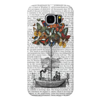 Butterfly Airship Samsung Galaxy S6 Cases