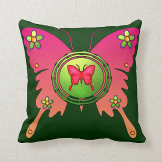 Butterfly American MoJo Pillow Throw Cushions