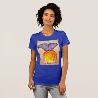 Butterfly and Apple fly away T-Shirt