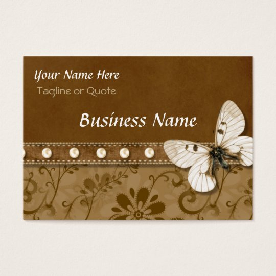 Butterfly and Beads Business Card