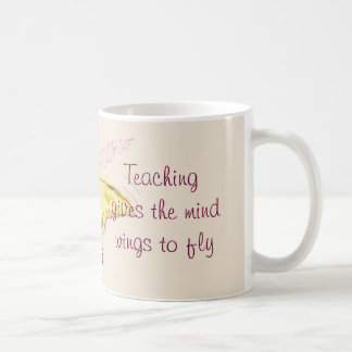 Butterfly and Cherry Blossoms Custom Teacher's Mug