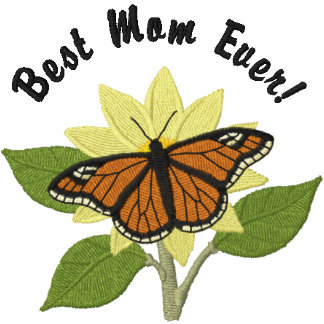 Butterfly and Flower- Best Mom