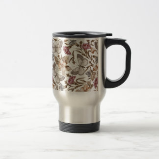 Butterfly And Flower Colorful Pattern Coffee Mugs