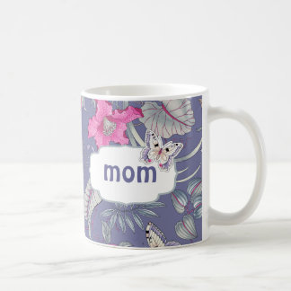 Butterfly and Flowers Mother s Day Gift Mugs