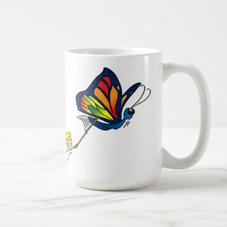 Butterfly and Girl Mug