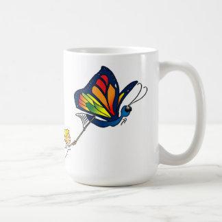 Butterfly and Girl Mug