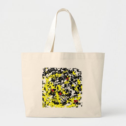 Butterfly and Lady Bugs Canvas Bags