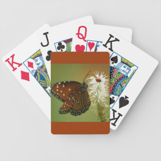 Butterfly and Ladybug Bicycle Playing Cards