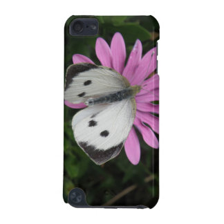 Butterfly and Pink Flower iPod Case