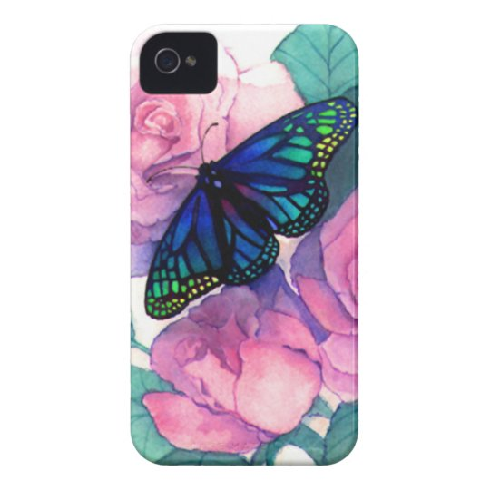 Butterfly and Rose Iphone case