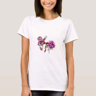 Butterfly and rose T-Shirt
