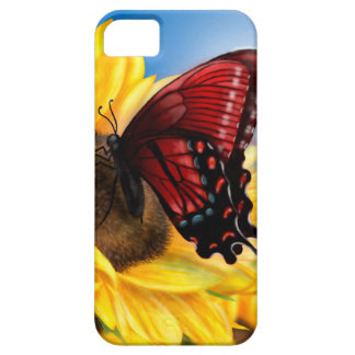 Butterfly and Sunflower iPhone 5 Covers