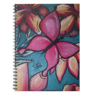 Butterfly and sunflower notebook