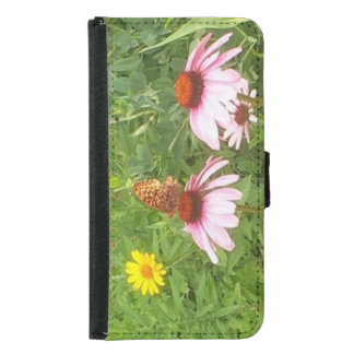 Butterfly and wildflowers phone case Galaxy s5