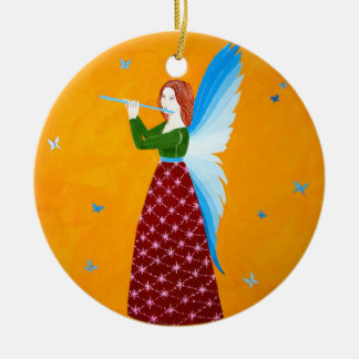 Butterfly Angel Christmas Ornament