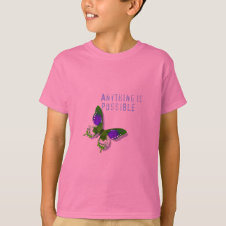 Butterfly Anything is Possible Child's Tee