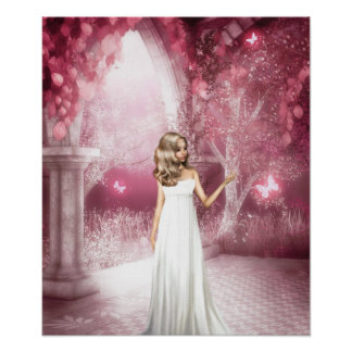 Butterfly Arch Poster