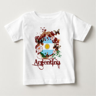 Butterfly Argentina Baby T-Shirt