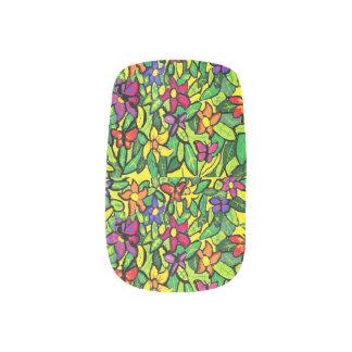 Butterfly art 2 minx nail art
