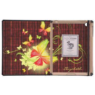 Butterfly Art 5 DODO iPad Folio Cases iPad Cover