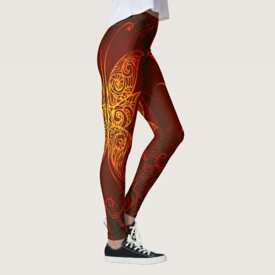 Butterfly Art 7 Leggings