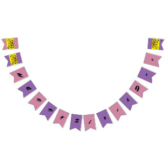 butterfly art bunting