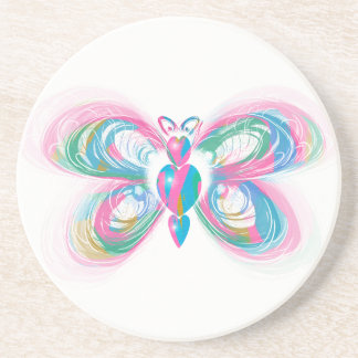 Butterfly Art Coaster