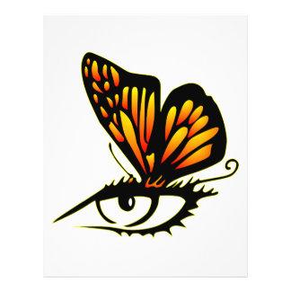 Butterfly Art Custom Flyer