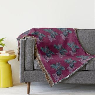 Butterfly Art Throw Blanket