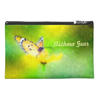 Butterfly Asthma Emergency Kit Travel Accessory Bags