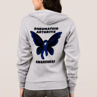 Butterfly/Awareness...Rheumatoid Arthritis Hoodie