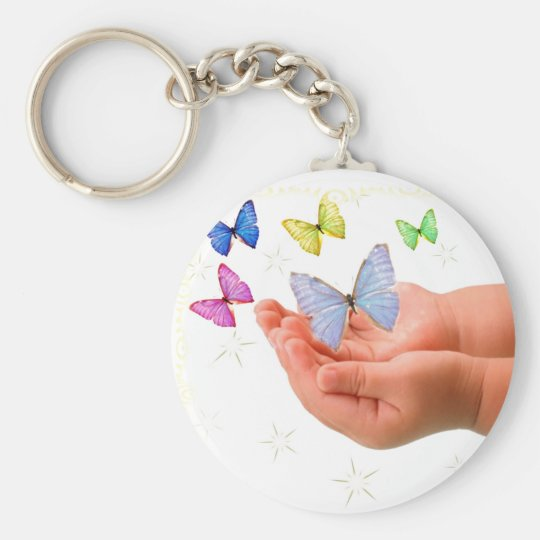 Butterfly Baby  Keychain