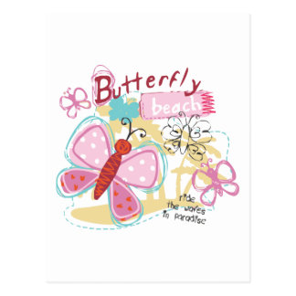 Butterfly Baby Postcard