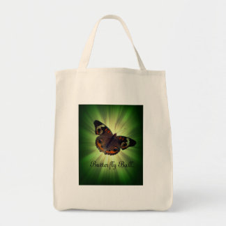 Butterfly Ball Shopping Bag. Tote Bag