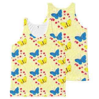 Butterfly Beauties All-Over Print Tank Top