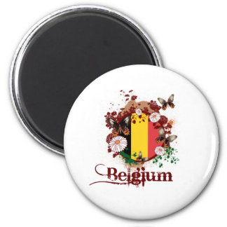 Butterfly Belgium Magnets