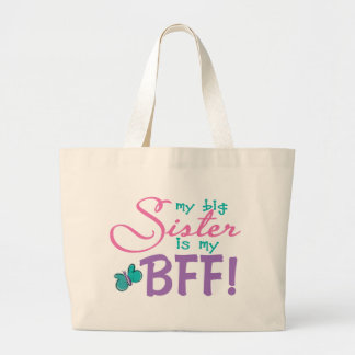 Butterfly Big Sister BFF Canvas Bags